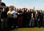 AS Victoria Golf Club Valbonne Sortie Roquebrune Mars 2016
