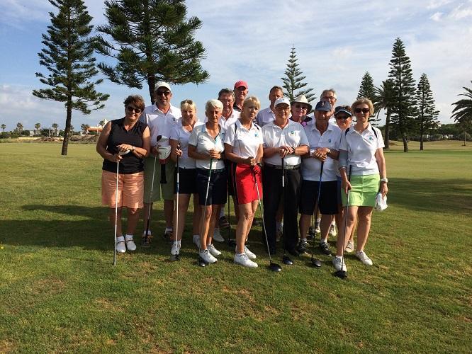 Sortie 2017 Espagne Victoria Golf Club I